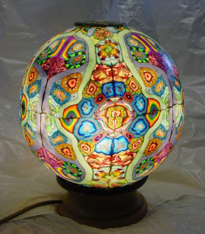 Spectrawax Lighting Unusual Tiffany Style Energy Saving Wax And